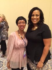 Me with Doreen Rainey_Steve Oct 2015_Founder and CEO of the RADICAL Success Institute and the Vice President, Operations, Act Like A Succ