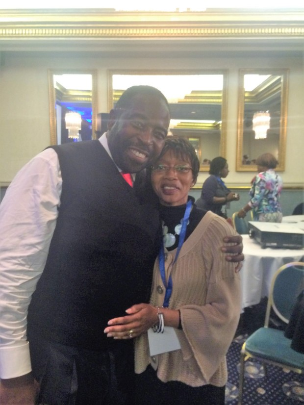 Me with Les Brown_Oct 2014